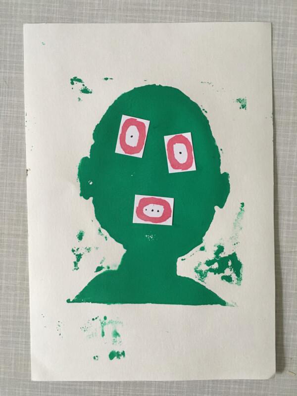 Attic Zine No 9 - Green 2 - William Mellott