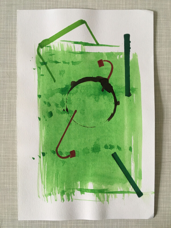 Attic Zine No 9 - Green 2 - Donmay Donamayoora
