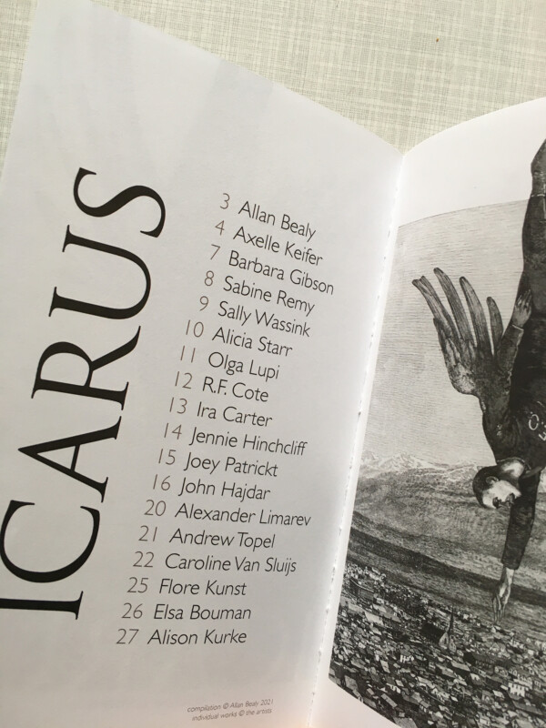 Icarus - published by Allan Bealy - participants