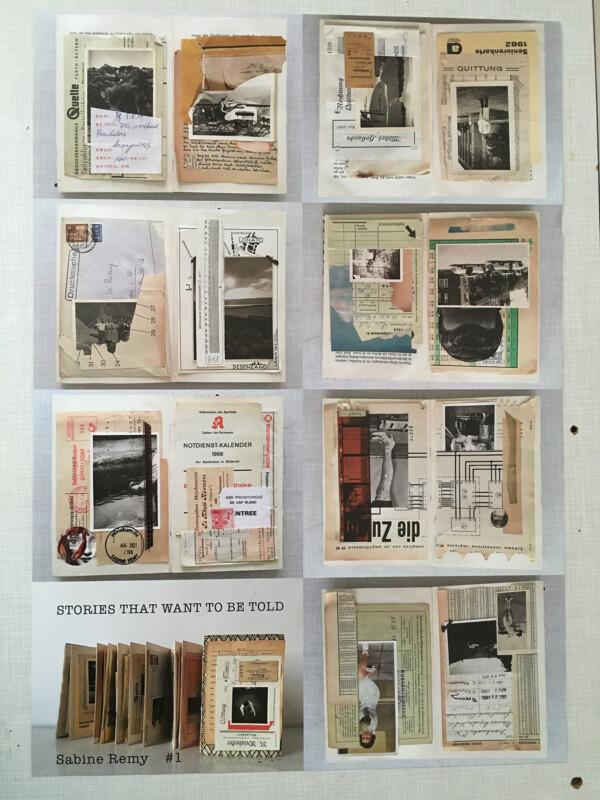 Zine No 1 - 8 Seiten / 8 pages